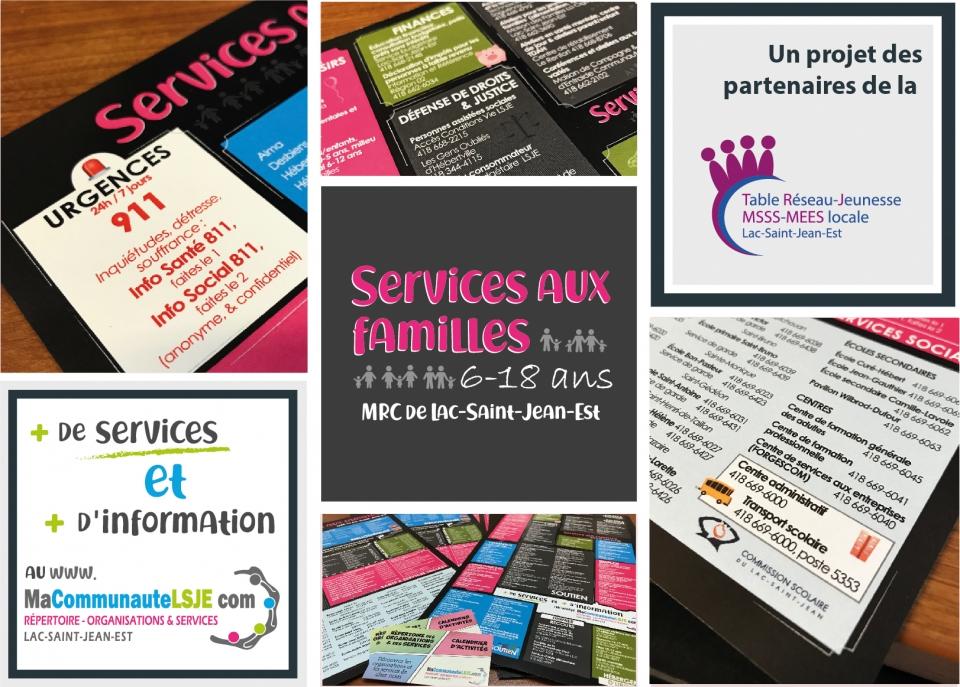 Outil - Service aux familles 6-18 ans MRC de Lac-Saint-Jean-Est