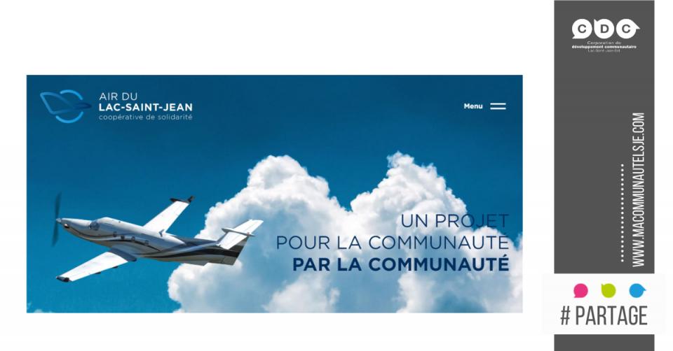 Invitation du maire de la Ville d'Alma - Air du Lac-Saint-Jean Est