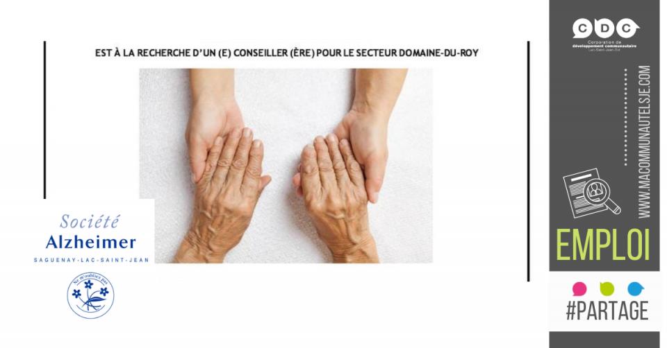 Conseillère ou conseiller | Domaîne-du-Roy