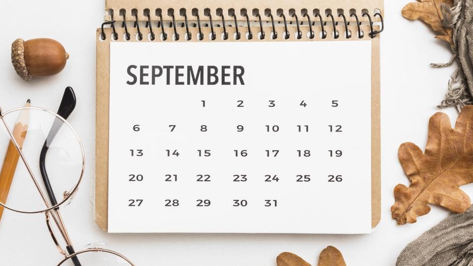 Programmation de septembre