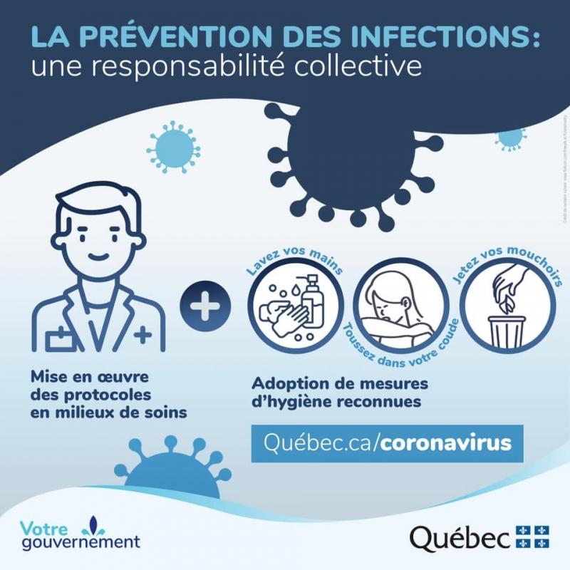 MESURES GOUVERNEMENTALES - Prévention des infections