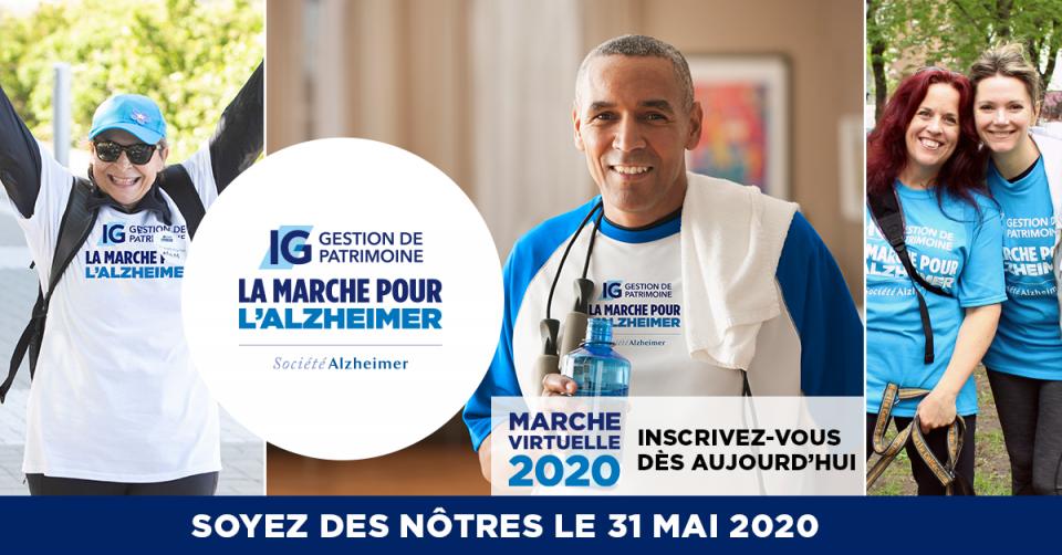Marche pour l'Alzheimer 2020