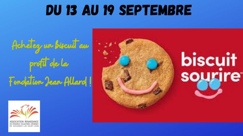 Vive les biscuits sourire !