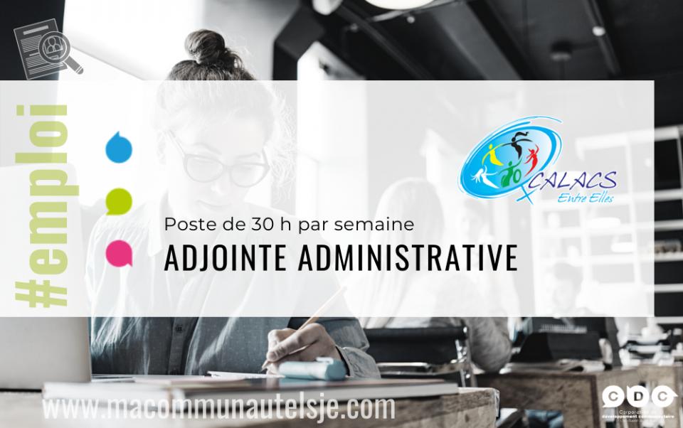 Adjointe administrative