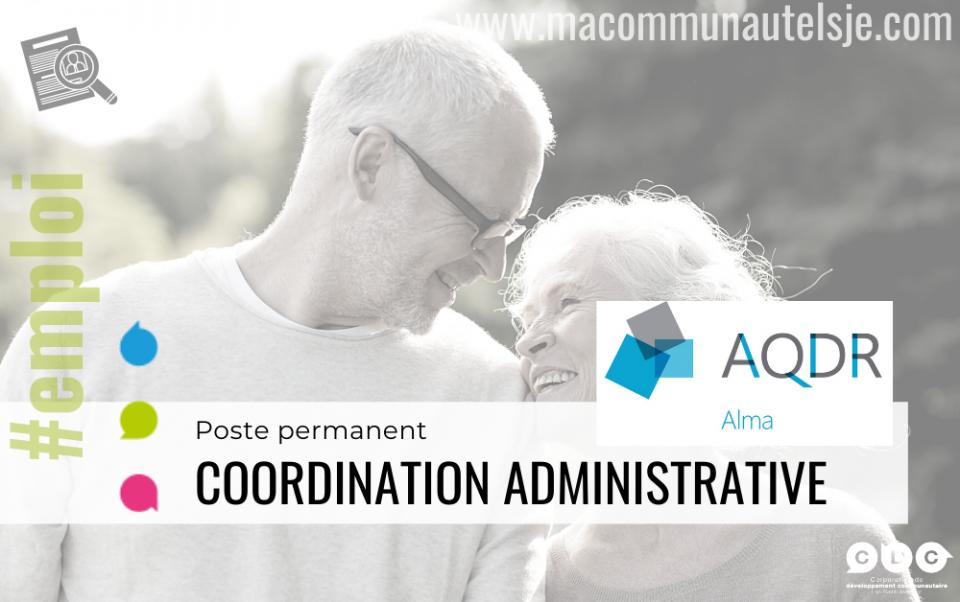 Coordonnatrice ou coordonnateur administratif