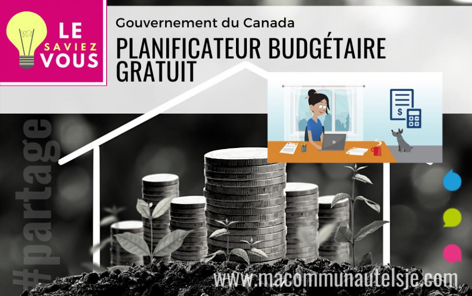 Planificateur budgétaire gratuit