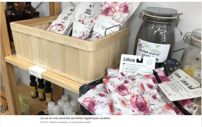 Alma offre 100 $ pour rembourser les produits d'hygiène féminine réutilisables